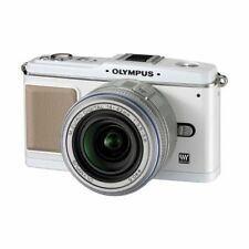Excellent! Olympus E-P1 12.3MP with 14-42mm White - 1 year warranty