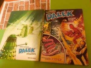 Dalek (Doctor Who) BBC TV Rare Vintage Annual 1979 Good to Fair Cond Unclipped
