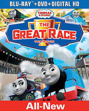 THOMAS AND FRIENDS: THE GREAT RACE (BLU-RAY, DVD & Digital HD) BRAND NEW SEALED