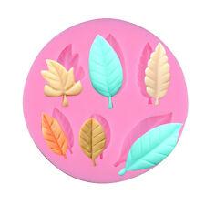 Leaf Silicone Fondant Cake Icing Sugar craft Decorating Kitchen Mould Tools