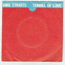 "DIRE STRAITS Vinyle 45T 7"" TUNNEL OF LOVE Part 1 et 2 - VERTIGO 6059350 RARE"