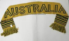 1x Australian Souvenir Scarf - Australia Green and Gold