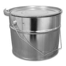 Metalleimer & Spannringdeckel 5 Liter Eimer Blecheimer
