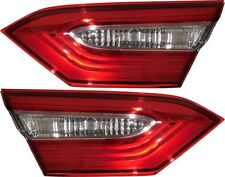 FIT TOYOTA CAMRY 2018 LE L INNER TAIL LIGHTS TRUNK LAMPS TAILLIGHTS PAIR