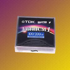 TDK LTO 1, D2404-100, 100/200 GB, Data Cartridge Datenkassette, NEU & OVP