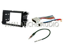 Ford Lincoln Mercury Double DIN Car Stereo Radio Dash Install Kit W Wire Harness