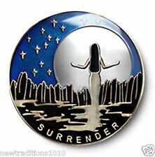 """""""Surrender""""  Enamel AA/NA 12 Step Recovery Program Coin/Chip/Medallion"""