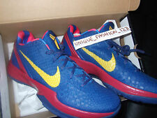 NIKE KOBE VI 6 BARCELONA HOME US 13 UK 12 47.5 MANGO BLUE PRELUDE 429659-402