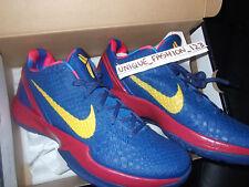 Nike Kobe Vi 6 Barcelona Casa EE. UU. 13 Reino Unido 12 47.5 Mango Azul preludio lo que el 8 2 1