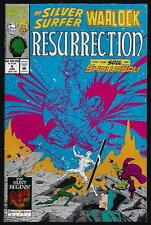 The SILVER SURFER: Warlock: Resurrection US MARVEL vol.1 # 4/'93