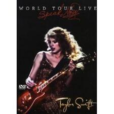 "TAYLOR SWIFT ""SPEAK NOW WORLD""  DVD NEW+"