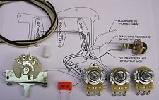 Electrics Upgrade Wiring Kit for Strat (with CRL Switch)CTS Orange Drop S/Craft