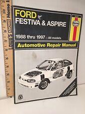 Ford Festiva & Aspire 1988-1997 Haynes Repair Manual #36030