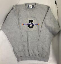 Babylon 5 Embroidered Multi Color Babylon 5 Logo Small Sweatshirt Collectible