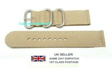 Strap Fits Seiko SNZG09 7S36-03J0 Watch 22MM LUG Army Style Nylon