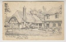 Berkshire Tarjeta Postal - La Cebada MOW POSADA,Clifton Hampden,Abingdon
