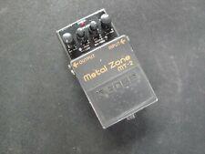 Boss Metal Zone MT-2 Guitar Effects Pedal