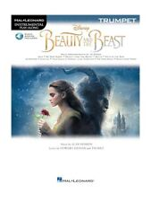 Disney Beauty And The Beast Trumpet Learn to Play Film Songs Tunes MUSIC BOOK