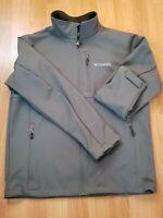 High Sierra Men/'s Keeler Softshell Jacket Moss Green Color Choose Your Size