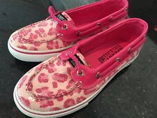 New Girls Sperry Biscayne pink/rose Youth Size - 3.5