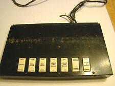 Vintage M3 Hammond Organ Vibrato Switches With Plate