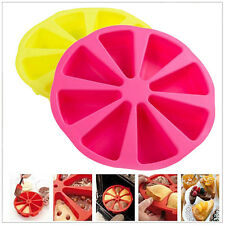 Silicone Scone Round Baking Pan 8 Cavity Triangle Cake Mold DIY Mould Hot Sale