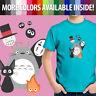 Toddler Kids Tee Youth T-Shirt Studio Ghibli Anime Totoro No Face Jiji Kiki Howl