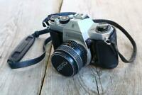 Asahi Pentax Spotmatic F 34mm Film Camera SMC Takumar F1.8 55mm Lens BL