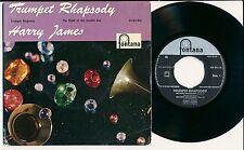 "HARRY JAMES 45 TOURS EP 7"" HOLLANDE TRUMPET RHAPSODY"
