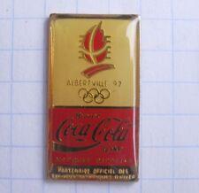 COCA-COLA / OLYMPISCHE SPIELE ALBERTVILLE 1992  ... Sport Pin (134b)