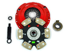 KUPP 6-PUCK RIGID DISC CLUTCH KIT for 88-91 HONDA CIVIC EF9 CRX EF8 SiR JDM B16A