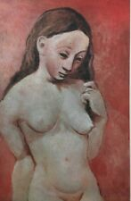 Pablo Picasso,Pink Figure, Offset Lithograph 1946, Plate-signed