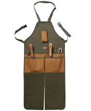 "Adjustable 5 Pocket Gardening Tools Apron Leg Split Durable Outdoor 18"" x 47.5"""