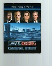 LAW+ORDER CRIMINAL INTENT TV SHOW SEASON ONE DVD COLLECTION    NEW CONDITION