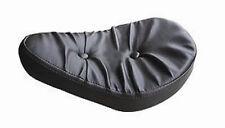 "ULTIMA SOLO SEAT 9"" PILLOW BLACK HARLEY SOFTAIL RIGID BOBBER SPORTSTER CHOPPER"