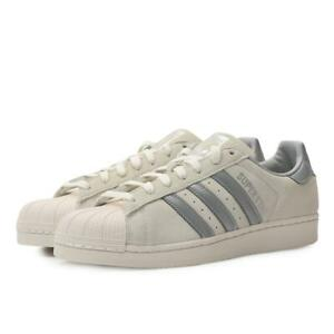 Adidas Originals Superstar Off White Reflective Mens Casual Sneakers B41989