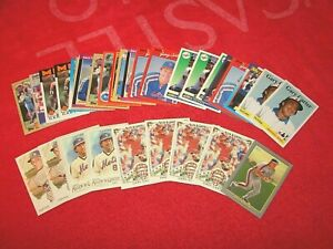 GARY CARTER METS EXPOS HOF LOT OF 33 CARDS WITH INSERTS (18-42)