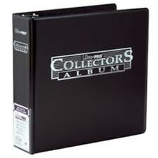 "Ultra Pro 3"" Inch Collector Card Binder Album 3-Ring Holder - Black - New"