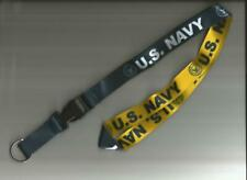 Us Navy Reversible Neck Strap Key Lanyard