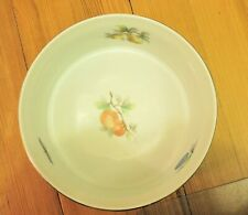 Oven to Table Cookware Fruit 9 Inch Soufflé bowl w/Gold Trim