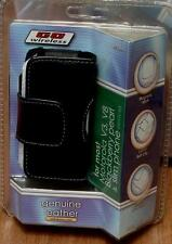 Go Wireless Genuine Leather Cell Phone Case - Motorola V3, V8 - BRAND NEW