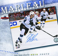 PATRICK MARLEAU Signed San Jose Sharks 8 x 10 Photo - 70083