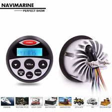 Marine Stereo Radio BT Audio System Motorcycle MP3 Boat Receiver Waterproof