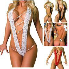 Mujer Sexy Tanga Picardías Lencería Vestido Pijama Ropa Interior De Dormir
