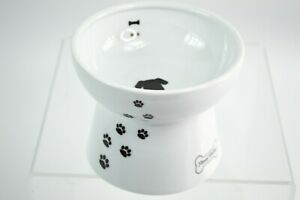 Neco Ichi Necoichi Dog Water Bowl Raised Bowl Ceramic Pedestal Dish Japan