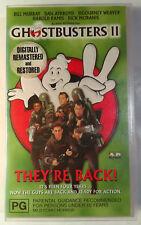 Ghostbusters II [2] VHS 1989 Ivan Reitman 1999 Columbia TriStar Small Case