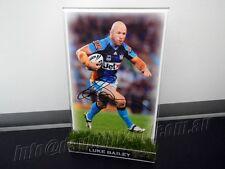 ✺Signed✺ LUKE BAILEY Photo & Frame PROOF COA Gold Coast Titans NRL 2017 Jersey