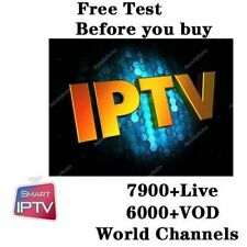 1 Year PTV Smarters Pro Subscription Android Box Smart TV MAG M3U STB VLC IOS