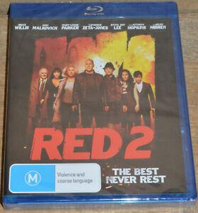 Red 2 (Blu-ray, 2014) - Sealed - Bruce Willis, John Malkovich, Helen Mirren