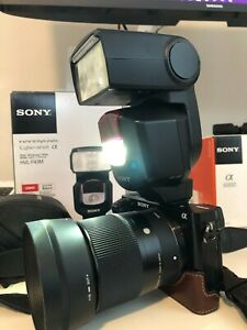 Sony HVL F43M Shoe Mount Flash **mint**